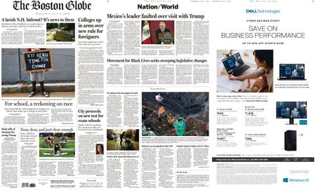 The Boston Globe – July 08, 2020