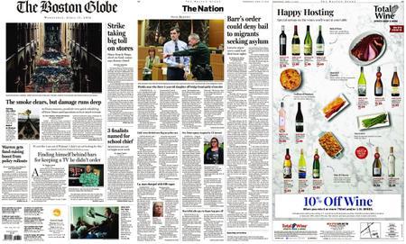 The Boston Globe – April 17, 2019