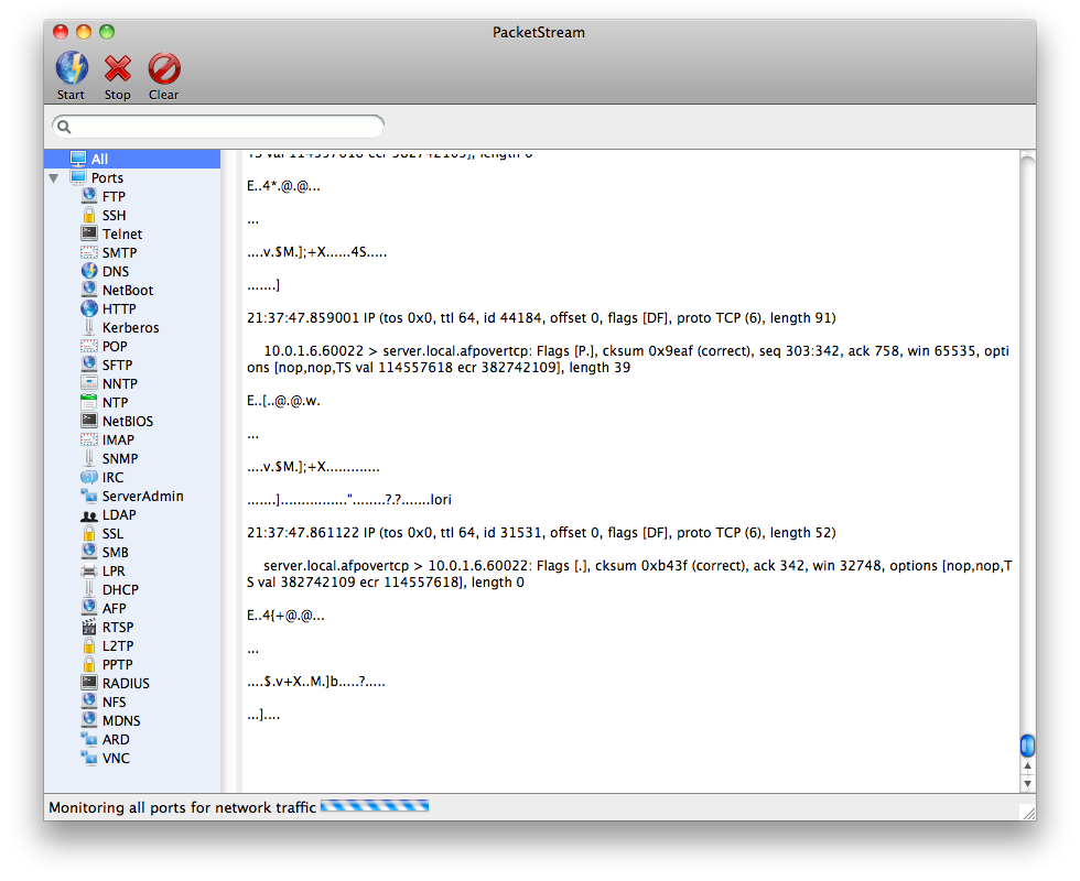 Code by Kevin PacketStream v4.0 MacOSX