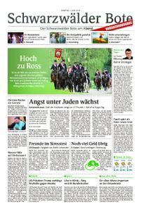 Schwarzwälder Bote Sulz - 01. Juni 2019
