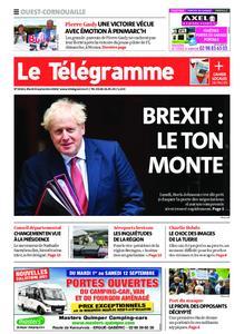 Le Télégramme Ouest Cornouaille – 08 septembre 2020