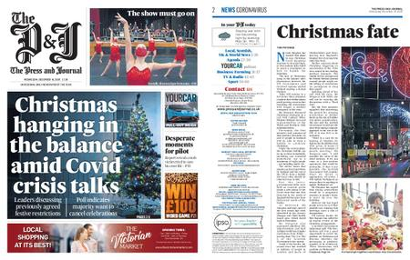 The Press and Journal Moray – December 16, 2020