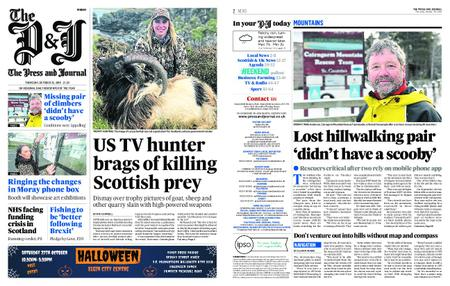 The Press and Journal Moray – October 25, 2018