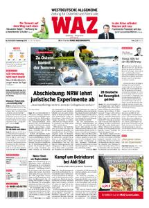 WAZ Westdeutsche Allgemeine Zeitung Oberhausen-Sterkrade - 18. April 2019