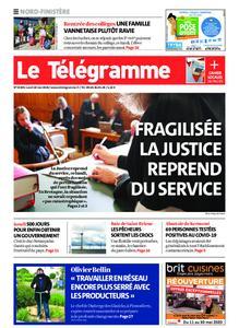 Le Télégramme Brest Abers Iroise – 18 mai 2020