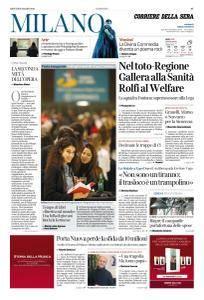Corriere della Sera Milano - 8 Marzo 2018