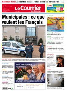 Le Courrier de l'Ouest Cholet – 16 décembre 2019