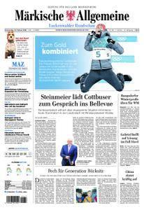 Märkische Allgemeine Luckenwalder Rundschau - 15. Februar 2018