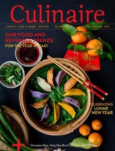 Culinaire Magazine - January-February 2019