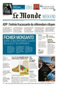 Le Monde du Samedi 11 Mai 2019