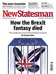 New Statesman - 30 November - 6 December 2018