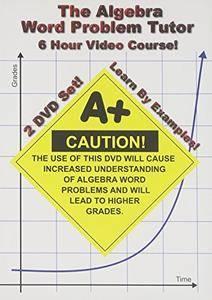 Math Tutor DVD - The Algebra Word Problem Tutor