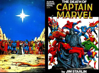 The Death Of Captain Marvel (1982