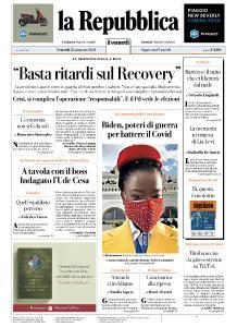 la Repubblica - 22 Gennaio 2021