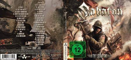 Sabaton - The Last Stand (2016) [Limited Edition, CD+DVD]