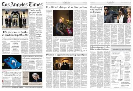 Los Angeles Times – February 23, 2021