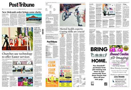 Post-Tribune – April 08, 2020