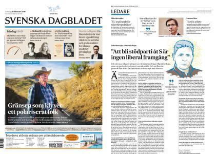 Svenska Dagbladet – 16 februari 2019