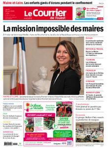 Le Courrier de l'Ouest Angers – 30 avril 2020