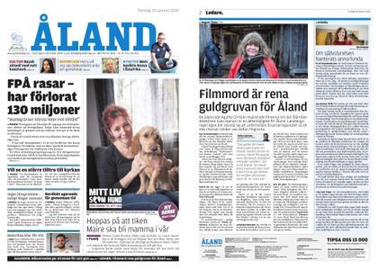 Ålandstidningen – 30 januari 2020