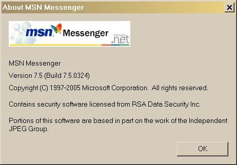 Portable MSN Messenger 7.5 - Runs from USB Stick