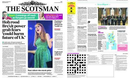 The Scotsman – January 29, 2018