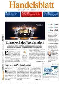 Handelsblatt - 30. Oktober 2017