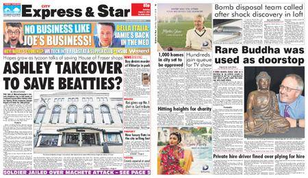 Express and Star City Edition – August 11, 2018