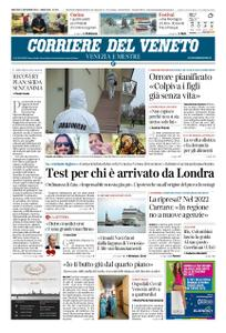 Corriere del Veneto Venezia e Mestre – 22 dicembre 2020
