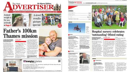 The Herts Advertiser – August 22, 2019