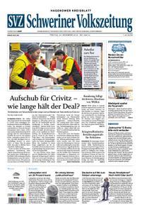 Schweriner Volkszeitung Hagenower Kreisblatt - 20. Dezember 2019