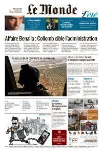 Le Monde du Mardi 24 Juillet 2018