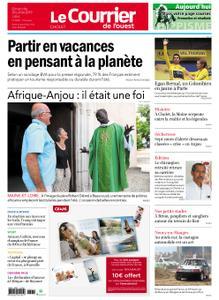 Le Courrier de l'Ouest Cholet – 28 juillet 2019