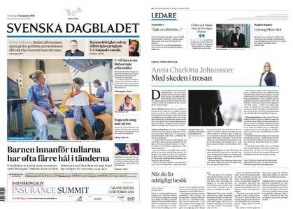 Svenska Dagbladet – 13 augusti 2018