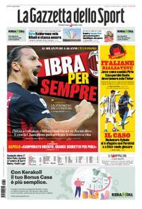 La Gazzetta dello Sport Roma – 19 ottobre 2020