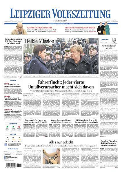 Leipziger Volkszeitung - 8 Februar 2017