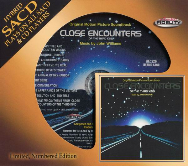 John Williams - Close Encounters Of The Third Kind (OST) (1977) [Audio Fidelity 2015] (Repost)