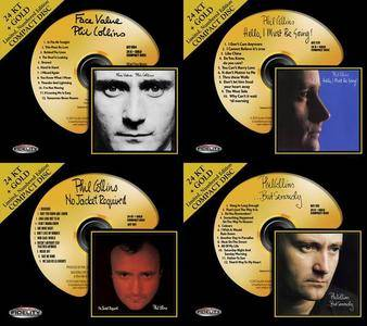 Phil Collins - 4 Studio Albums (1981-1989) [24 KT + Gold CD, 2010-2011]