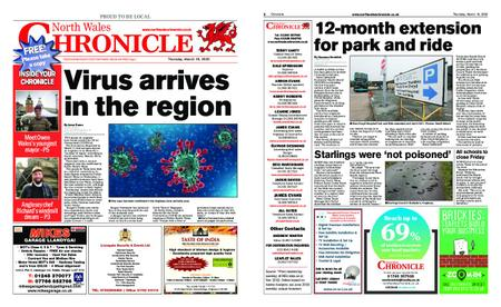 North Wales Chronicle – March 19, 2020