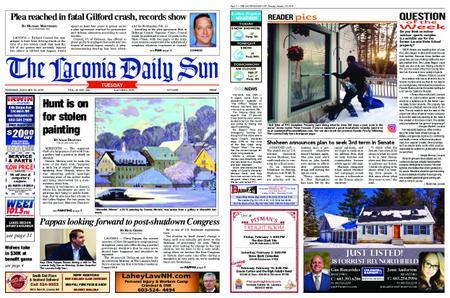 The Laconia Daily Sun – January 29, 2019