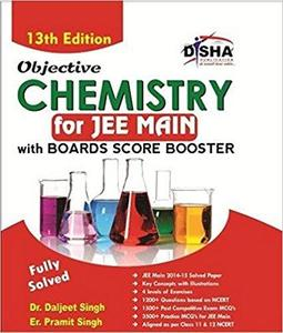Objective Chemistry for JEE Main with Boards Score Booster 13th Edition [Repost]