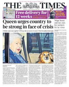 The Times - 20 March 2020