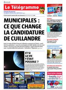 Le Télégramme Brest – 13 septembre 2019