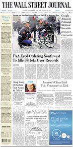 The Wall Street Journal – 12 November 2019