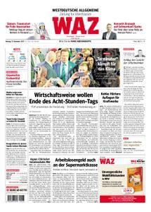 WAZ Westdeutsche Allgemeine Zeitung Oberhausen-Sterkrade - 13. November 2017