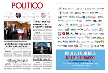 Politico – February 27, 2020