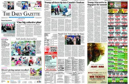 The Daily Gazette – June 11, 2018