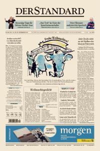 Der Standard – 24. Dezember 2019