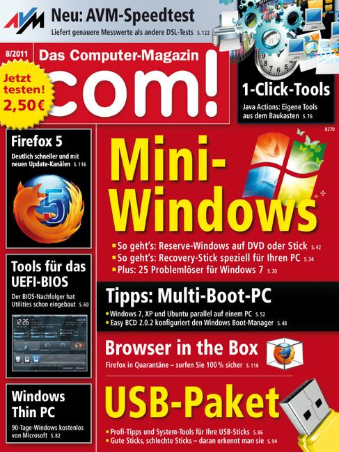 COM Das Computermagazin No 08 2011