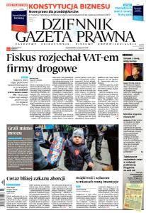 Dziennik Gazeta Prawna - 15 Stycznia 2018